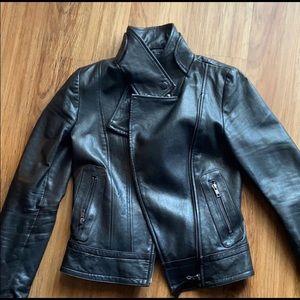 Mackage Exclusive to Artizia Kenya Leather Jacket